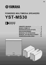 Buy Yamaha YST-MS30 Operating Guide by download Mauritron #250404