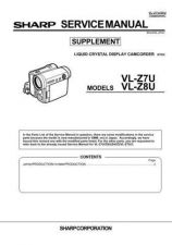 Buy Sharp. VLZ7SUPP2 Service Manual by download Mauritron #211713