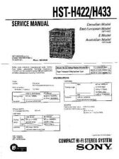 Buy Sony HST-H422-H433 Service Manual by download Mauritron #241385