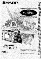 Buy Sharp VLH870 Service Manual by download Mauritron #210954