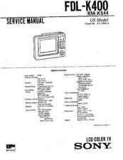 Buy Sony FWD-42PV1A Manual by download Mauritron #228848
