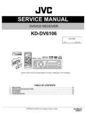 Buy JVC KD-DV6106 Service Manual Schematic Circuit. by download Mauritron #271262