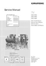 Buy GRUNDIG CUC1952 SERVICE I by download #105582