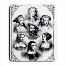 Buy King Henry The 8th VIII Wives Anne Boleyn Computer Mouse Pad