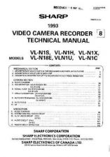 Buy Sharp VLNZ100326 Service Manual by download Mauritron #211170