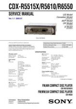 Buy Sony cdxc480 Service Manual by download Mauritron #244145