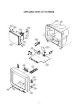 Buy LG GOLDSTAR CF21D33 034JADJ Service Information by download #112886