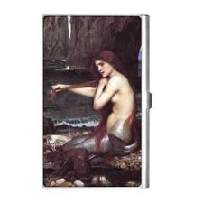 Buy The Mermaid John William Waterhouse Art Business Card Holder