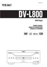 Buy Teac DV-L800(EFI) Service Manual by download Mauritron #223720