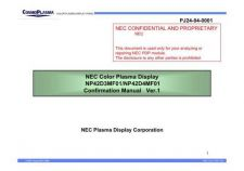 Buy Daewoo NEC Confirmation Manaual v1 Manual by download Mauritron #226233