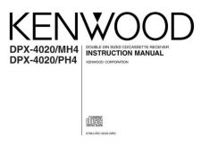 Buy Kenwood MH4 Operating Guide by download Mauritron #222972