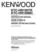 Buy Kenwood KTC-HR100MC Operating Guide by download Mauritron #219566