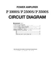 Buy JVC P1000S 2500S 3500S PCB C Service Manual by download Mauritron #252524