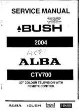 Buy HARVARD 2004, CTV700 SERVICE (A-6585) by download #108468