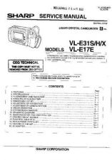 Buy Sharp VLE34H-010 Service Manual by download Mauritron #210770