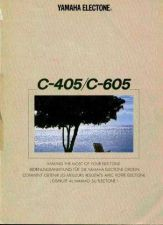 Buy Yamaha C605E 4 Operating Guide by download Mauritron #246913