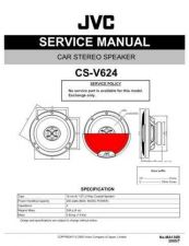 Buy JVC CS-XV520 Service Manual Schematic Circuit. by download Mauritron #270208