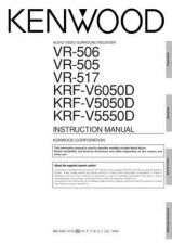 Buy Kenwood VR-505 Operating Guide by download Mauritron #219742