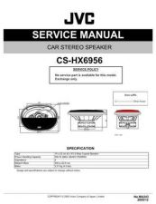 Buy JVC CS-V524 Service Manual Schematic Circuit. by download Mauritron #270200