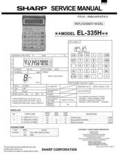 Buy Sharp EL-520V Technical Information by download Mauritron #232881
