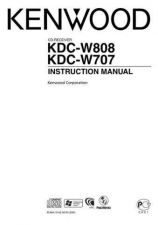 Buy Kenwood KDC-W8027 Operating Guide by download Mauritron #219096