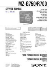 Buy Sony MZ-R5ST Service Manual. by download Mauritron #243184
