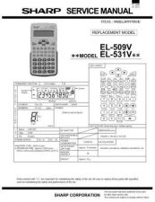 Buy Sharp EL-461S Technical Information by download Mauritron #232861