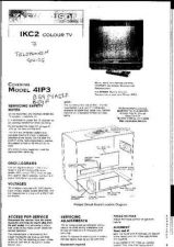 Buy THOMSON SN25 Colour Tv Service Man by download #107386