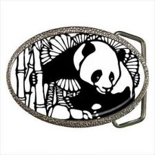 Buy Panda Bear Chinese Art Belt Buckle
