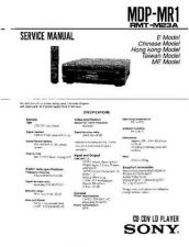 Buy Sony MDP-MR1-2 Service Manual. by download Mauritron #242453