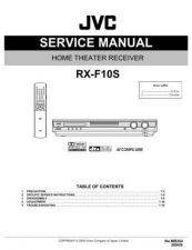 Buy JVC RX-F10S Service Manual. On by download Mauritron #272351