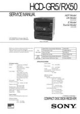 Buy Sony HCD-RX30 Manual by download Mauritron #229259