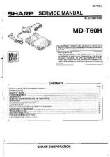 Buy Sharp MDT60H (1) Service Manual by download Mauritron #210127