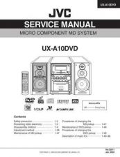 Buy JVC UX-A10DVD Service Manual by download Mauritron #220742