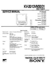 Buy Sony KV-1430R Service Manual. by download Mauritron #242198