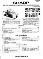 Buy Sharp QT272H-E-A-209 -DE-FR(1) Service Manual by download Mauritron #210196
