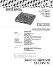 Buy Sony D-822K Service Manual by download Mauritron #239453