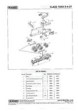 Buy Hornby No.227B Class 14XX 0-4-2T Service Sheets by download Mauritron #206949