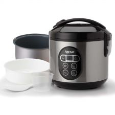 Buy Rice Cooker Vegetable Steamer 10Cup Uncooked 20Cup Cooked Fast Food Kitchen Fast