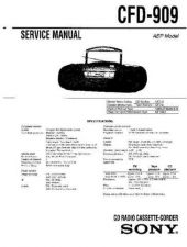 Buy Sony CFD-808 Manual-1662 by download Mauritron #228324