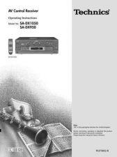 Buy Panasonic SADX950 Operating Instruction Book by download Mauritron #236381