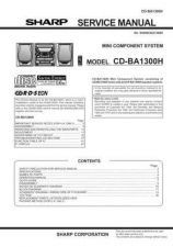 Buy Sharp CDBA2100CK Service Manual by download Mauritron #208418