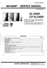 Buy Sharp. XL540H-CPXL540H_SM_GB(1) Manual by download Mauritron #212114