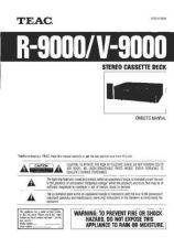 Buy Teac R-9000&V-9000(E) Service Manual by download Mauritron #223875