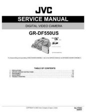 Buy JVC GR-DF550US Service Manual Schematic Circuit. by download Mauritron #270638