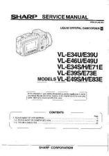 Buy Sharp VL-E630U Service Manual by download Mauritron #210805