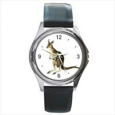 Buy Kangaroo Australia Unisex Animal Art Wrist Watch NEW