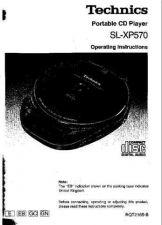 Buy Panasonic SLXP570 Operating Instruction Book by download Mauritron #236514