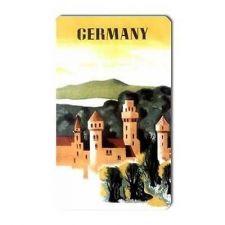 Buy Germany Retro Travel Art Souvenir Vinyl Magnet