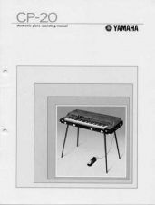 Buy Yamaha CP20E Operating Guide by download Mauritron #247179